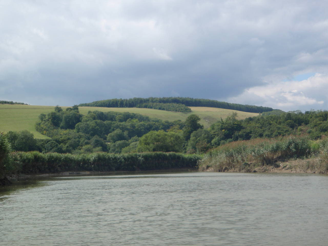 Stunning views of the South Downs from the River A
