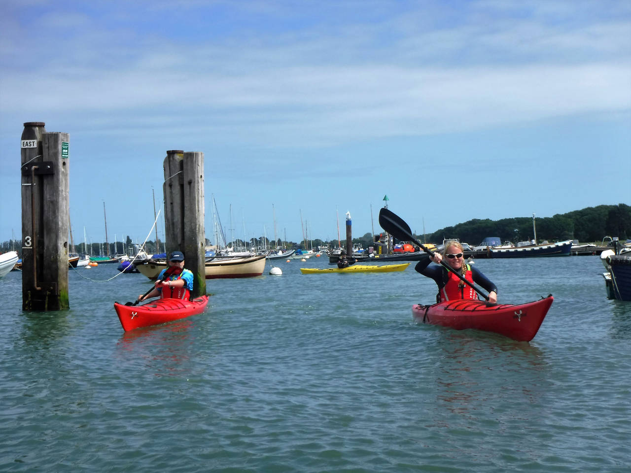Using Sea Kayaks