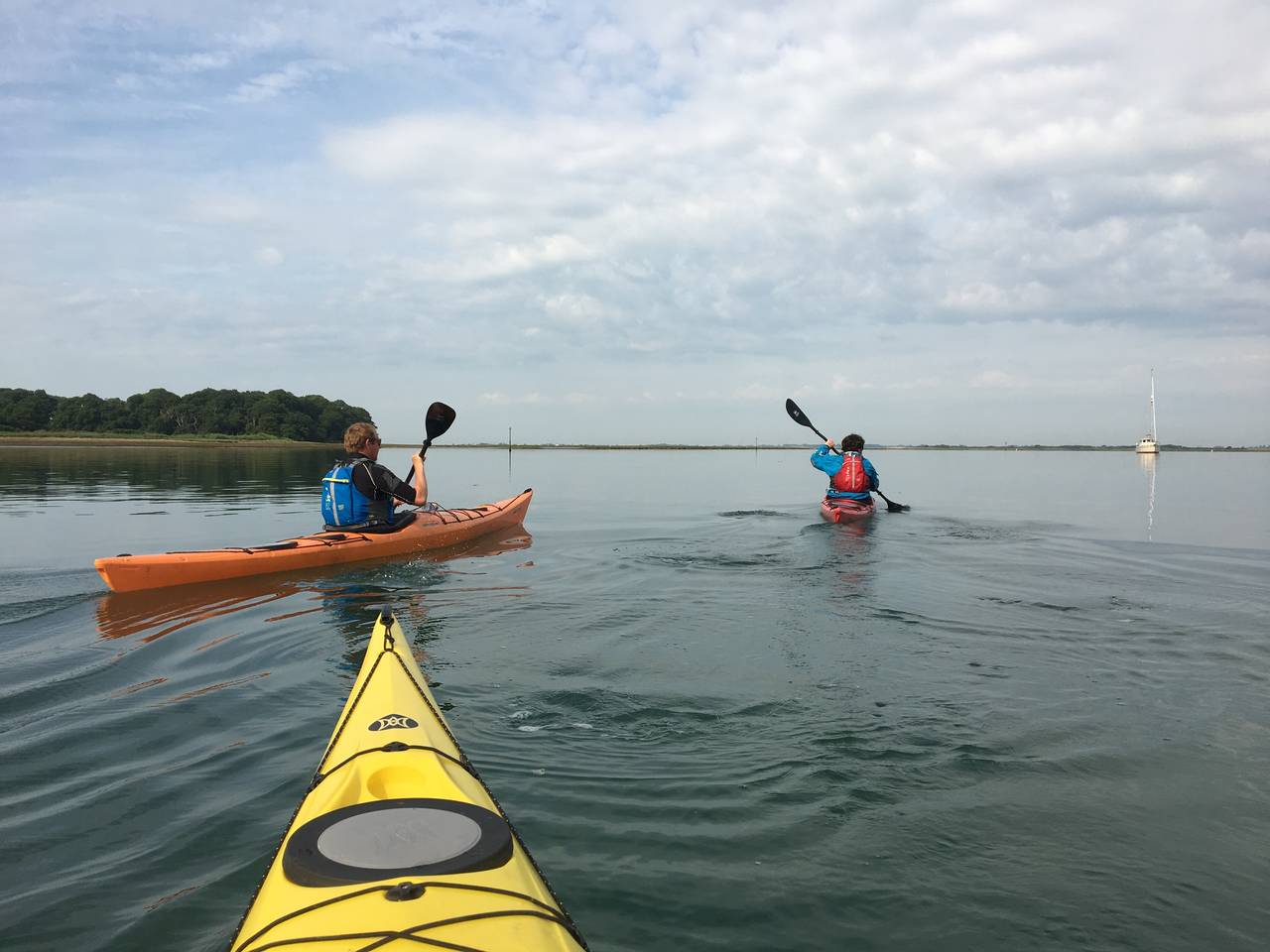 Sea Kayaking on Chichester Harbour